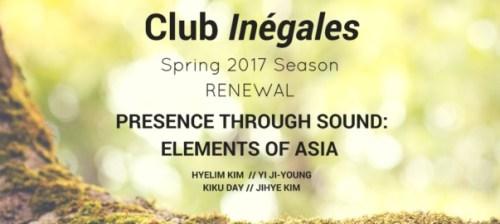 Presence through Sound banner