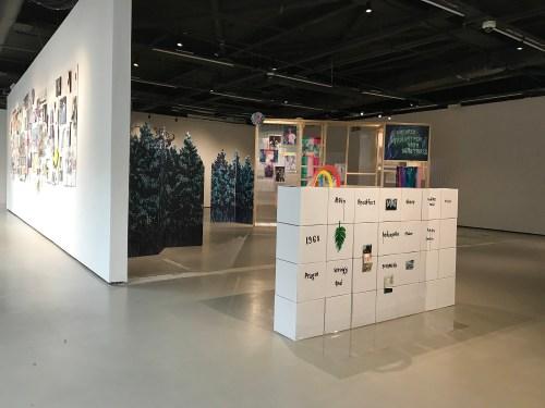 Yeji Kim installation view