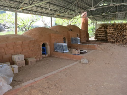 The kiln in Kyung-sook's front yard