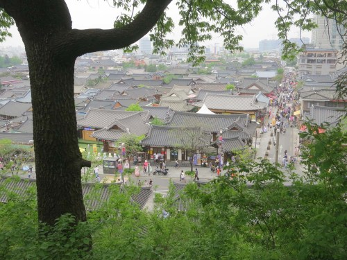 Jeonju's famous hanok village