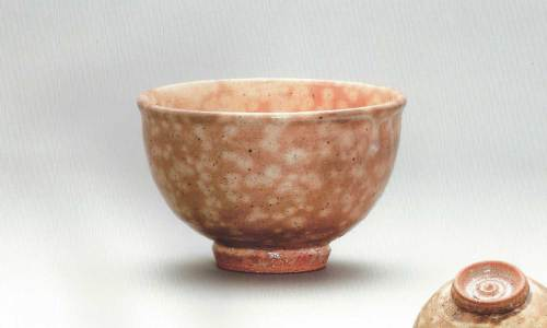 The winner of the grand prize in the tea bowl competition - made by Shin Seok-yong
