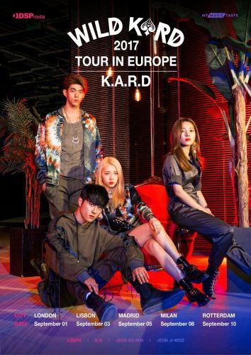 KARD Tour poster