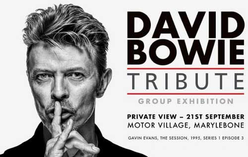 Featured image for post: David Bowie Tribute Exhibition – A Korean connection