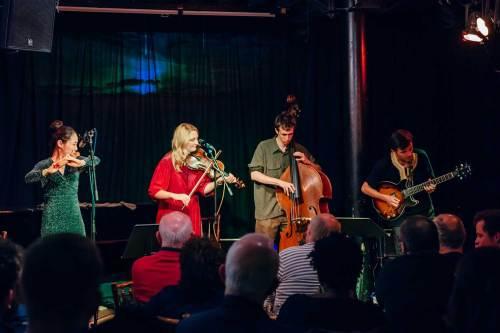 Kim Hyelim, Alice Zawadzki, Misha Mullov-Abbado and Rob Luft