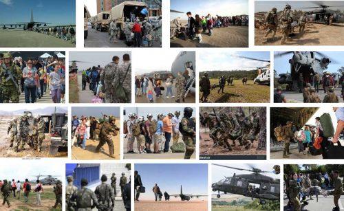 Military evacuation
