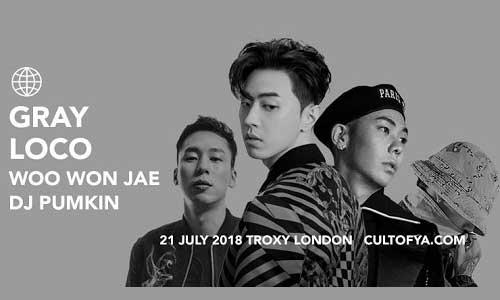 Gray, Loco, Woo Won Jae, DJ Pumkin
