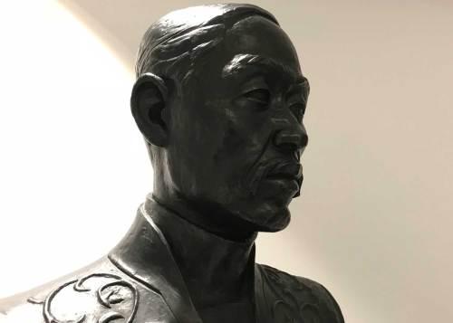 Yi Han-eung statue