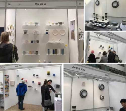 Ceramic Art London stalls