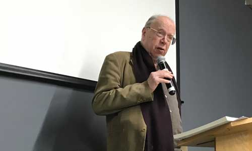Featured image for post: 27 years of translation: Brother Anthony's poetry talks in London