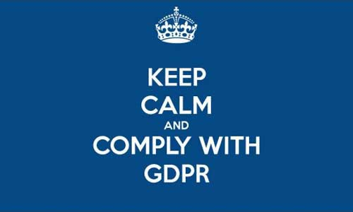 Featured image for post: Some GDPR admin