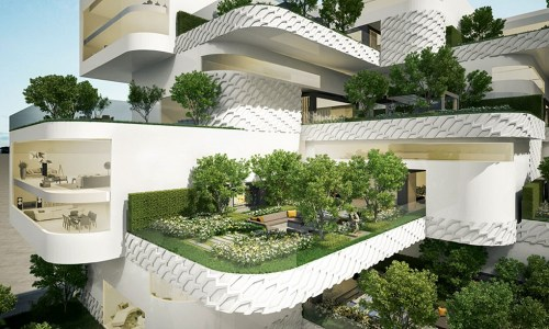 LG ECO City Garden design