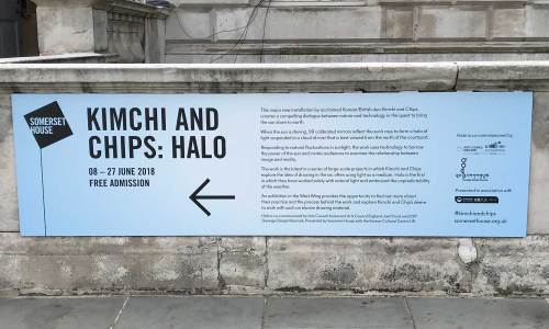 Kimchi and Chips notice