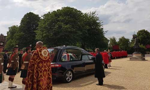 Bill Speakman funeral