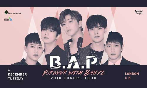"Featured image for post: B.A.P ""Forever with BABYz"" Tour in London"