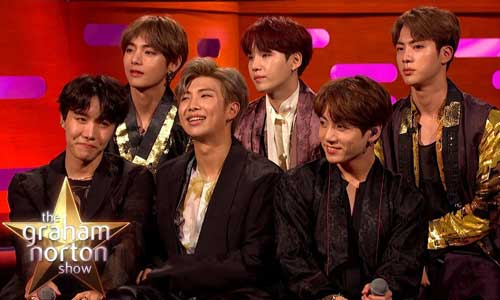 BTS on Graham Norton Show