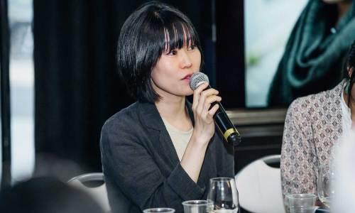 Kim Aeran at the KCCUK