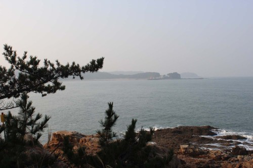 Western headlands in Taeangun