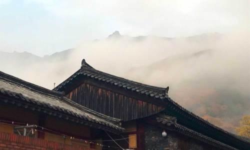 Early morning clouds, Pyochungsa