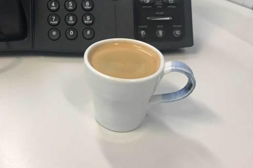 Espresso cup by Kim Sun Mee
