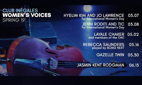 Featured image for post: Hyelim Kim and Jo Lawrence play Club Inégales