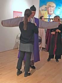 Hanbok dressing ceremony - the groom