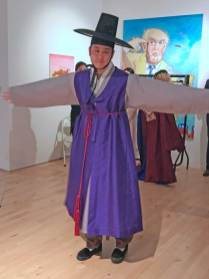 Hanbok dressing ceremony - the groom