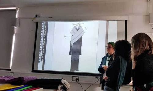 Hanbok lecture at Kingston School of Art