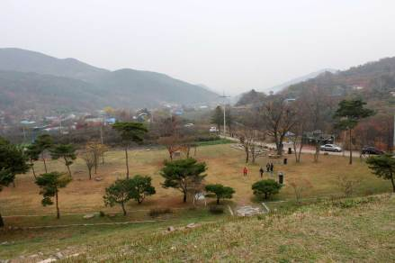View southwards from Namyeon-gun's tomb