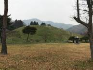 The mound on which Namyeon-gun's tomb is located