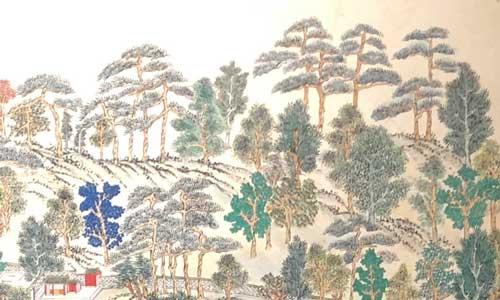 Minhwa trees by Kwon Jungsoon