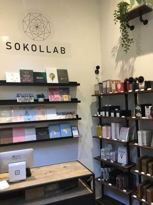 SOKOLLAB Store Counter