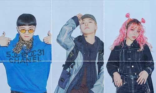 Giriboy, Kid Milli, + Jvcki Wai
