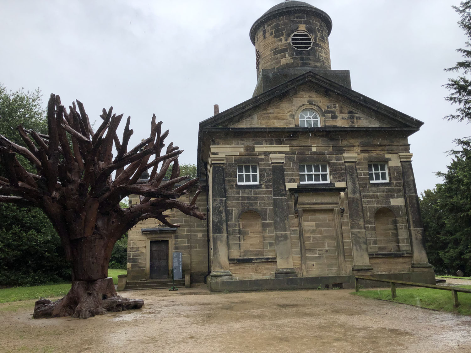 Exhibition Visit: Kimsooja At Yorkshire Sculpture Park
