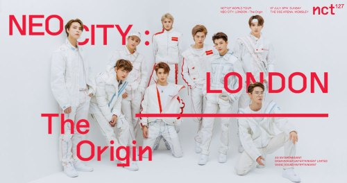 NCT 127 Tour poster