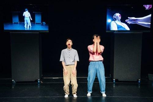 Choi Min-sun and Kang Jin-an perform Complement (photo © KCCUK)