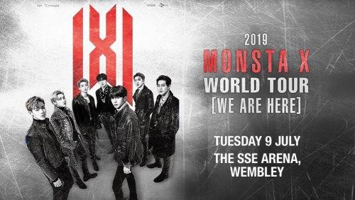 Monsta X tour poster