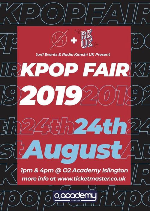2019 K-Pop Fair poster