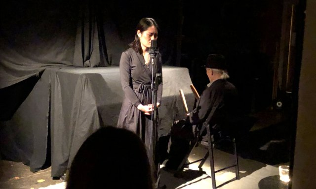 Jessica Hyunjin Kim with Kulim Kim at Cafe OTO