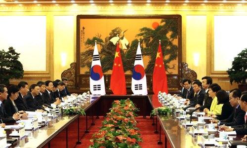 Korea-China summit, 27 June 2013