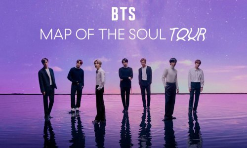 BTS Map of the Soul tour