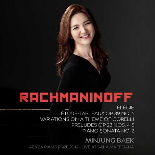 Minjung Baek Rachmaninoff recital