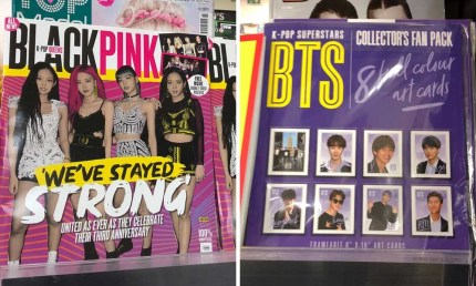 BTS and Blackpink Fan Mags