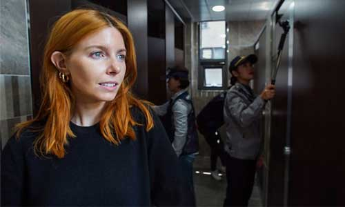 Stacey Dooley investigates Molka - image courtesy BBC