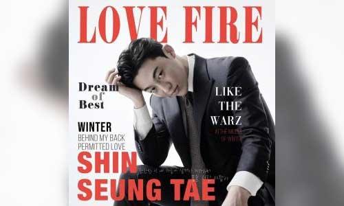 Shin Seung-tae Love Fire