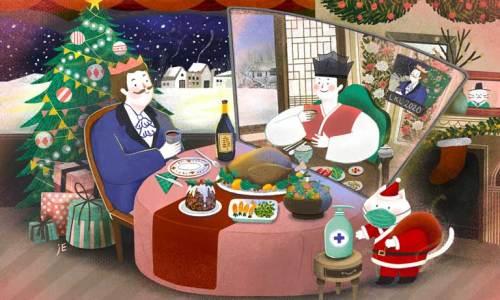 LKL Christmas card 2020 - the Covid edition
