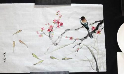 Ink Painting workshop
