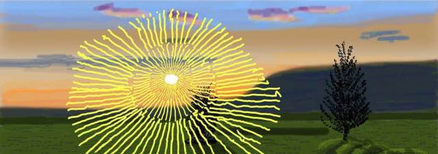 Hockney: Remember you cannot look at the sun or death for very long
