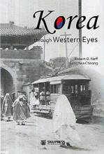 Cover artwork for book: Korea through Western Eyes