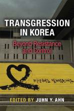 Cover artwork for book: Transgression in Korea: Beyond Resistance and Control