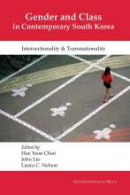 Cover artwork for book: Gender and Class in Contemporary South Korea: Intersectionality and Transnationality
